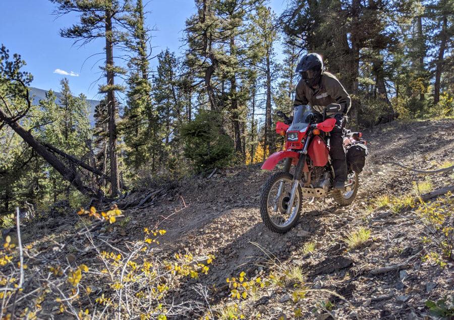 Motocykle terenowe na szlaku… tylko dla motocykli!
